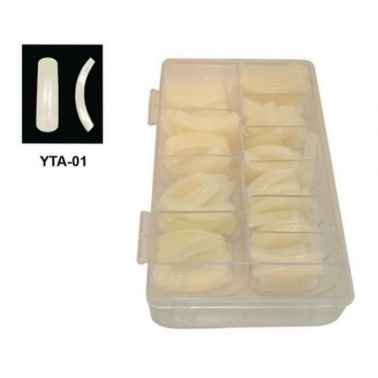500pcs Matte hook tips (American), 58566, Nails,  Health and beauty. All for beauty salons,All for a manicure ,Nails, buy with worldwide shipping