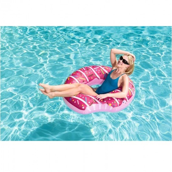 Swimming circle Bestway 36118 Donut (D107) Brown, 952728264, Water fun,  Network engineering,All pool ,Swimming pools and accessories, buy with worldwide shipping