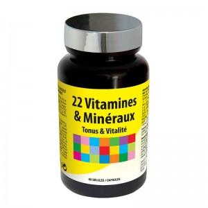 22 витамина и минерала / 60 капсул - Laboratories Ineldea Nuntri Expert 22 Vitamines & Min?raux