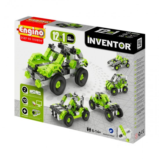 Constructor Inventor 12 In 1-Cars, 41429, Boys,  Toys,Boys ,  buy with worldwide shipping