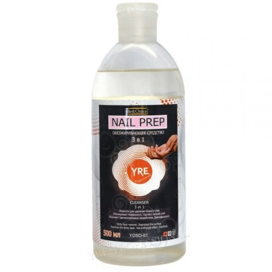 Degreaser 3B1 0.5 l, 58452, Nails,  Health and beauty. All for beauty salons,All for a manicure ,Nails, buy with worldwide shipping