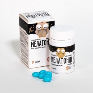 Мелатонин УльтраКапс №30 560 мг. Для улучшения качества и продолжительности сна.