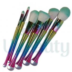 Set of makeup brushes (6 PCs). Makeup brushes