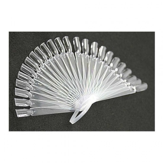 24pcs sample plate (transparent fan), 58742, Nails,  Health and beauty. All for beauty salons,All for a manicure ,Nails, buy with worldwide shipping