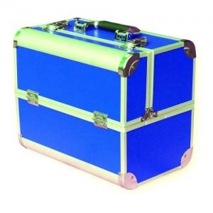 Чемодан-кейс алюминиевый 2629 синий матовый