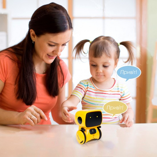 Interactive Robot with Voice Control – AT-Robot (Yellow), 41958, For the whole family,  Toys,For the whole family ,  buy with worldwide shipping