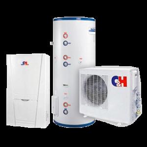 Инверторный тепловой насос Cooper&Hunter GRS - CQ6.0Pd / Na - K, оздух-Вода, для отопления (охлаждения) и ГВС