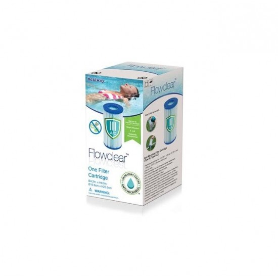 Cartridge Bestway 58476 (III) bactericidal, 952728234, Cartridges and sand filters,  Network engineering,All pool ,Equipment for swimming pools, buy with worldwide shipping