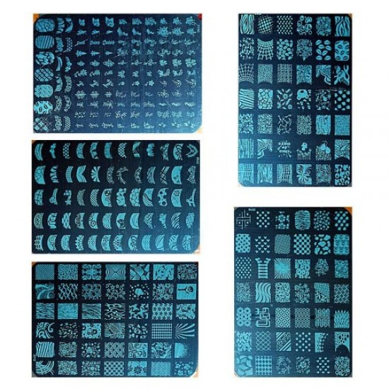 Stencil for stamping metal rectangular large, 58637, Nails,  Health and beauty. All for beauty salons,All for a manicure ,Nails, buy with worldwide shipping