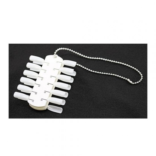 Tablet-rows for samples with a chain of 24 colors (2x12), 58717, Nails,  Health and beauty. All for beauty salons,All for a manicure ,Nails, buy with worldwide shipping