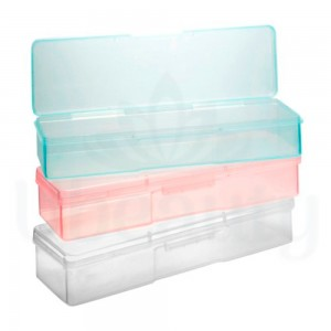 Plastic container for tools