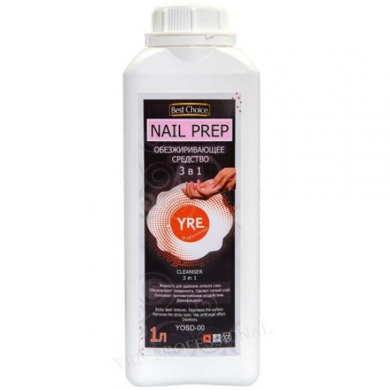 Degreasing agent 3v1 1l, 58451, Nails,  Health and beauty. All for beauty salons,All for a manicure ,Nails, buy with worldwide shipping