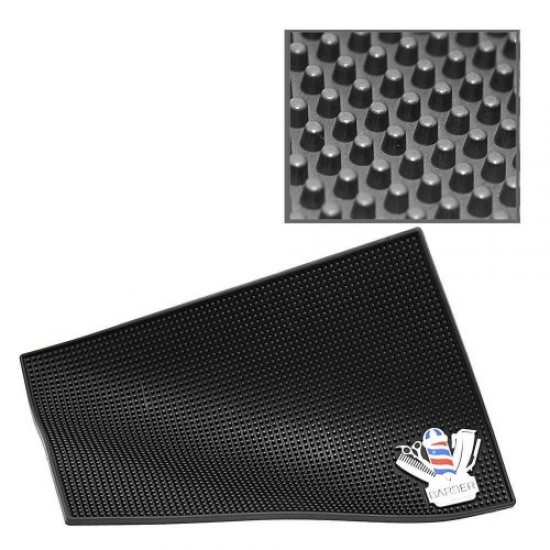 Rubber Mat Barber (45cm*30cm*0.7 cm*), 58492, Hairdressers,  Health and beauty. All for beauty salons,All for hairdressers ,Hairdressers, buy with worldwide shipping