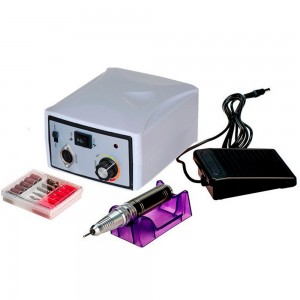 Профессиональная машинка для аппаратного маникюра и педикюра ZS-701 65W 45000 об/мин Белая