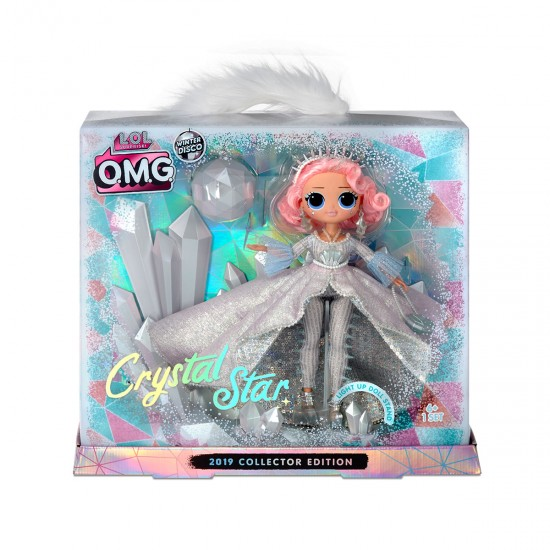 Game Set With L. O. L. Surprise Doll! O. M. G. Winter Disco Series-Lady Crystal, 41930, Girls,  Toys,Girls ,  buy with worldwide shipping