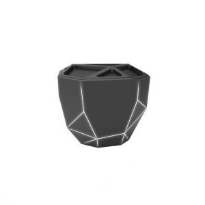 Акустика Xoopar - Geo Speaker (Черная С Белой Led-Подсветкой, Bluetooth,Моно)
