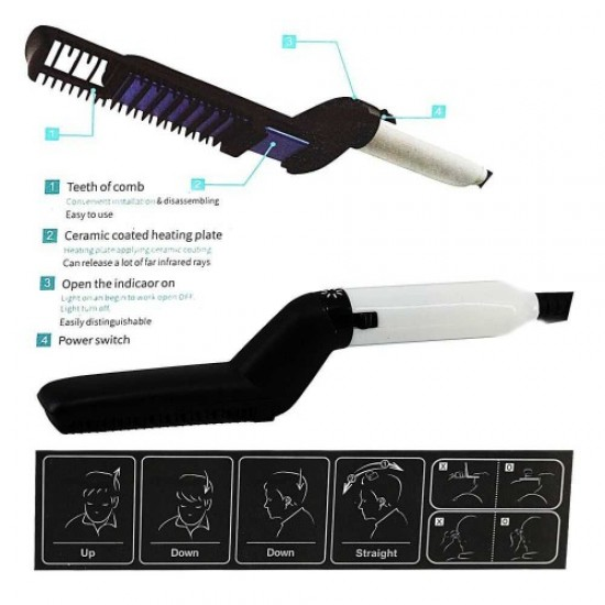 Barber straightening iron (for beard), 58474, Hairdressers,  Health and beauty. All for beauty salons,All for hairdressers ,Hairdressers, buy with worldwide shipping