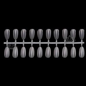 Типсы для дизайна прозрачные отрывные 24 х 5 шт