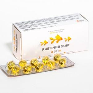 Рыбий жир УльтраКап 500мг №30 680 мг. Обладает антиоксидантными свойствами.