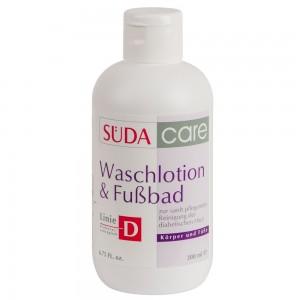 Моющий лосьон и ванна для диабетиков / 200 мл - Suda Waschlotion Fu&Вad