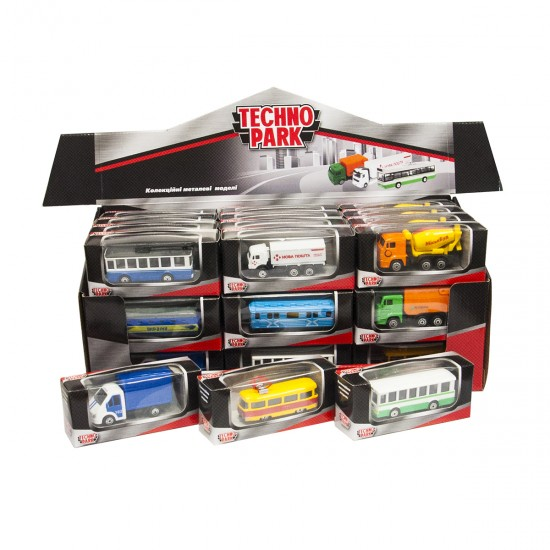 Mini Models Of City Services - Technopark, 41403, Boys,  Toys,Boys ,  buy with worldwide shipping