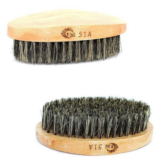 Beard brush 51A (oval/wood), 58467, Hairdressers,  Health and beauty. All for beauty salons,All for hairdressers ,Hairdressers, buy with worldwide shipping