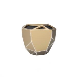 Акустика Xoopar - Geo Speaker (Золотая С Белой Led-Подсветкой, Bluetooth,Моно)