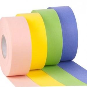 Цветная Бумага для депиляции в рулоне 100 метров, тенканная, прочная, мягкая