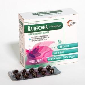 Валериана УльтраКап #100 для улучшения качества сна и процесса засыпания 550 мг капсула