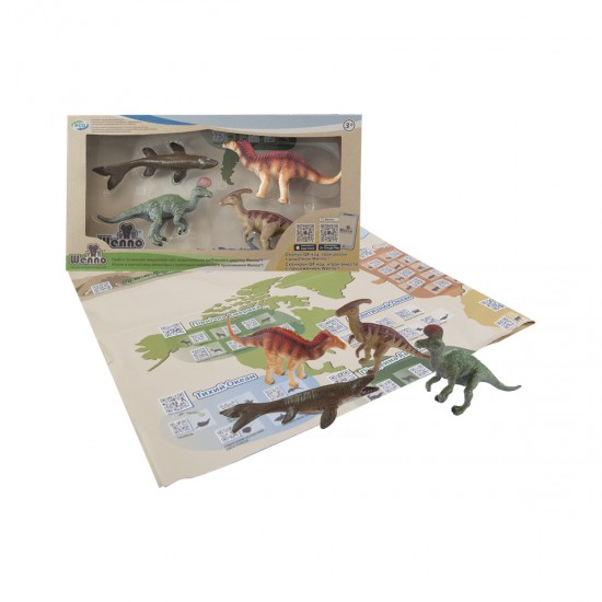 Educational Game Set - Dinosaurs Of The Cretaceous Period, 41396, For the whole family,  Toys,For the whole family ,  buy with worldwide shipping