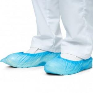 Бахилы одноразовые упаковка 200 шт,100 пар Бахил, полиэтиленовые, нестерильные, чехол на обувь