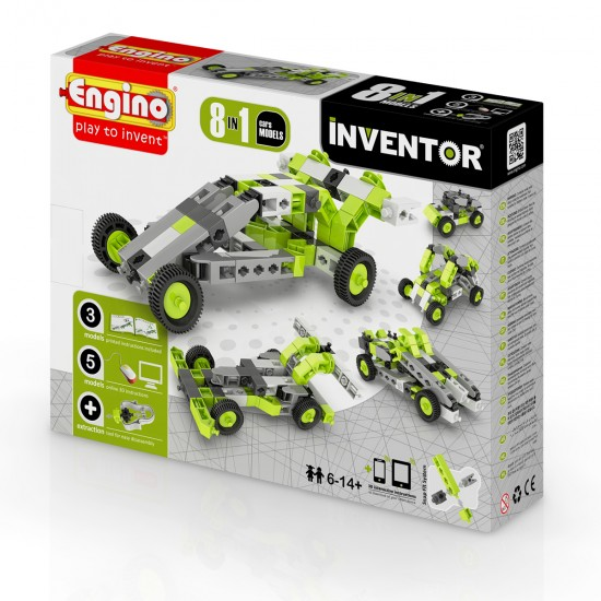 Constructor Inventor 8 In 1-Cars, 41405, Boys,  Toys,Boys ,  buy with worldwide shipping