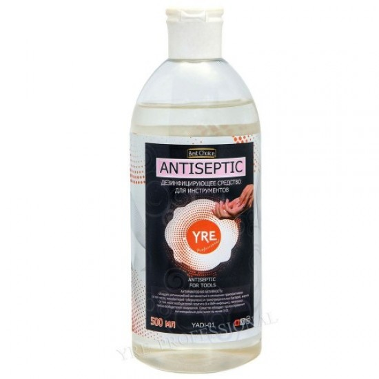 Antiseptic for tools 0.5 l, 58628, Nails,  Health and beauty. All for beauty salons,All for a manicure ,Nails, buy with worldwide shipping