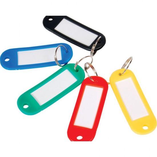 Брелок для ключей пластмассовый 50х22 мм,NAT003, 1600, Брелки,  Все для торговли,Галантерея ,  купить в Украине