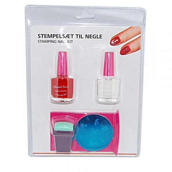 Set for stamping in a blister PSK-01 (printing / stencil/scraper/paint), 58675, Nails,  Health and beauty. All for beauty salons,All for a manicure ,Nails, buy with worldwide shipping