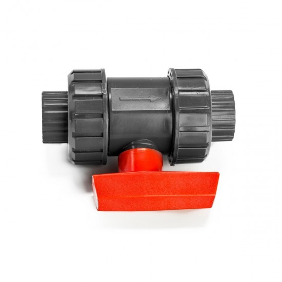 Aquaviva ball valve PN10, diameter 110 mm, 952728249, Valves PVC,  Network engineering,All pool ,Pipes and fittings, buy with worldwide shipping