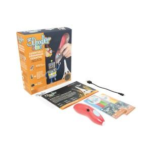 3D-ручка 3Doodler Start для детского творчества - КРЕАТИВ (48 стержней, красная)