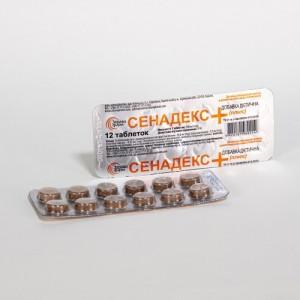 Сеннадекс+ табл. №12 Для улучшения процесса пищеварения,