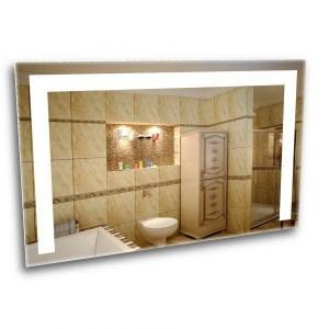 A mirror with led lighting. Ice bathroom mirror 600*800