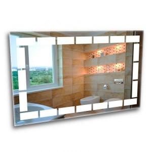 A mirror with led lighting. Ice bathroom mirror 1000*800