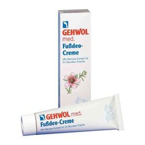 Крем-дезодорант / 75 мл - Gehwol Fussdeo-Creme / med Deodorant foot cream