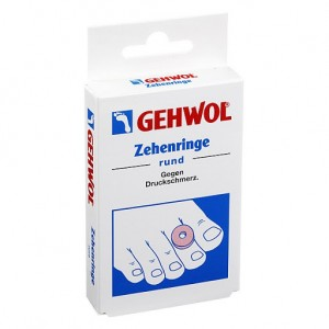 Круглые кольца / 9 шт - Gehwol Zehenringe Rund