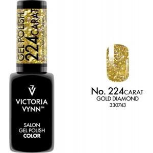 Гель-лак для ногтей Victoria Vynn Carat Collection 224, Карат Коллекция, UV LED, Гибридный гель лак, Soak Off