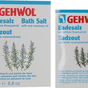 Соль для ванны с маслом розмарина для снятия усталости ног - Gehwol Badensalz / Bath salt