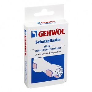 Защитный пластырь толстый / 4 шт - Gehwol Schutzpflaster Disk Zum Zuscheneiden